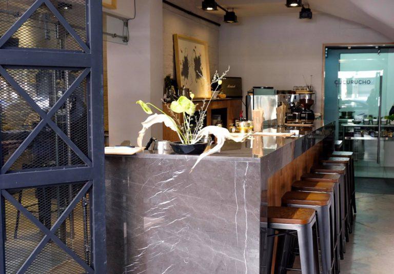 Cucurucho Café, Polanco Mexico City