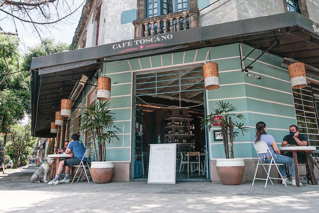 Cafe Toscana, Mexico City