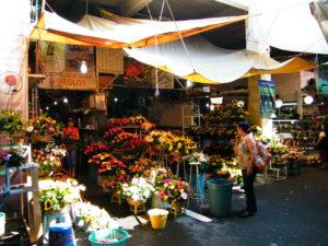 Mercado Jamaica in Mexico City