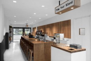 Blend Station digital nomad coworking cafe in Condesa Mexico City