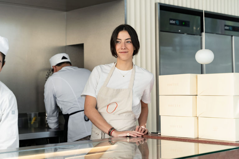 Odette Olavarri, Chef and Owner of Odette Cuisine