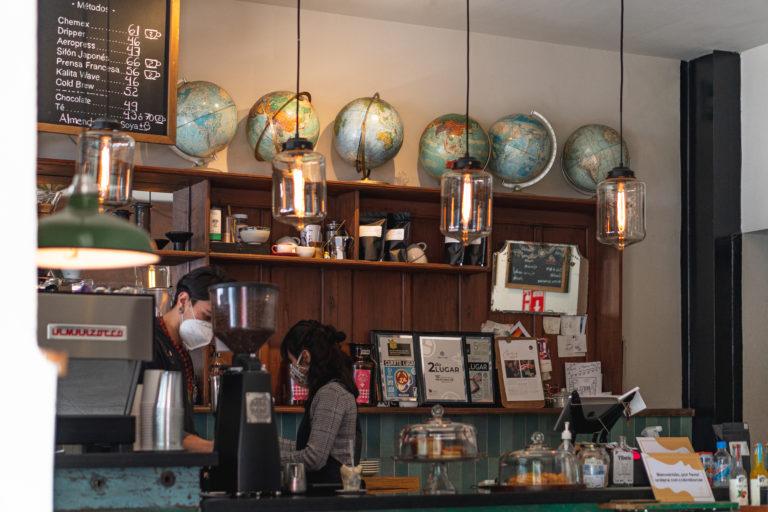 Cardinal Casa de Cafe in Roma Norte Mexico City