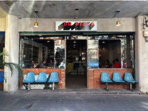 Dr. Pizza the best pizza in Juárez Mexico City