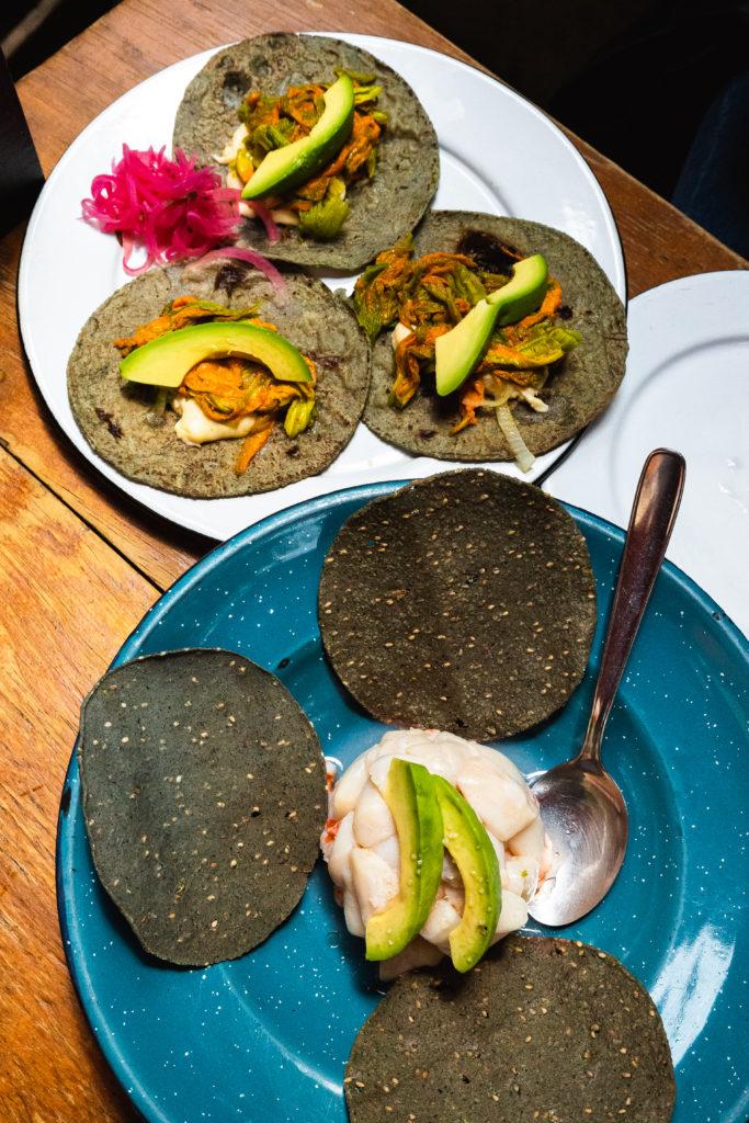 El Parnita local artisenal tacos in Roma Norte Mexico City