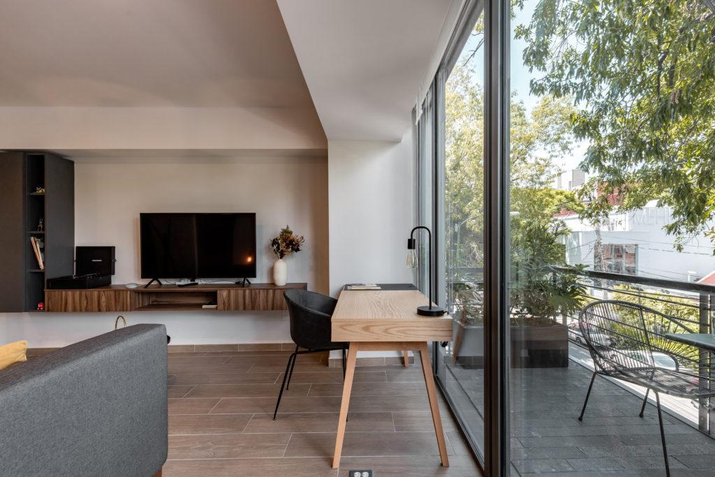 Casai apartment with terrace in Polanco Mexico CIty