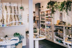 Alcachofa y Romero vegan and eco friendly shop in condesa Mexico City