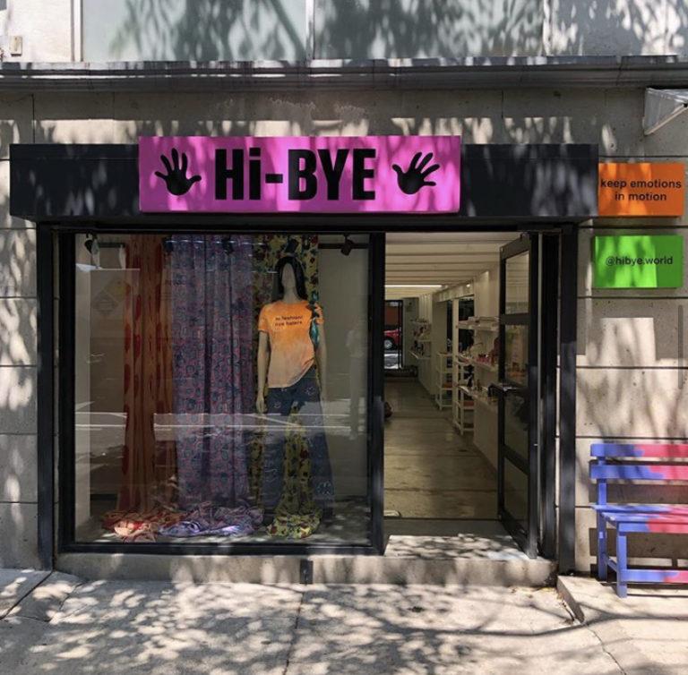 Hi-BYE boutique shop in Roma Norte Mexico City