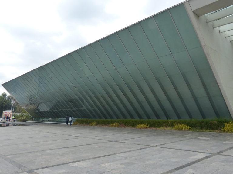 Museo Universitario Arte Contemporáneo (MUAC) in coyoacán mexico city