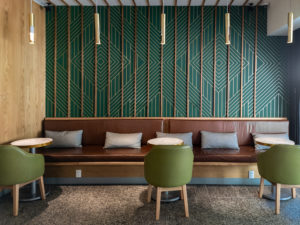 Baxter room coffee and matcha bar in polanco mexico city