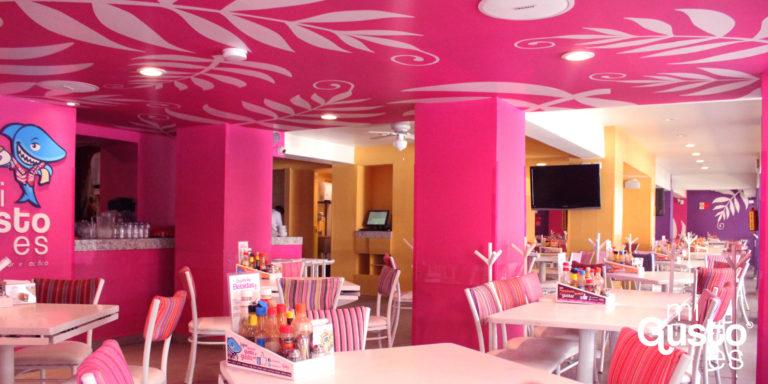 Mi Gusto es seafood restaurant in mexico city