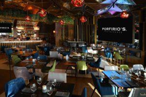 Porfirio's Restaurant Polanco Mexico City