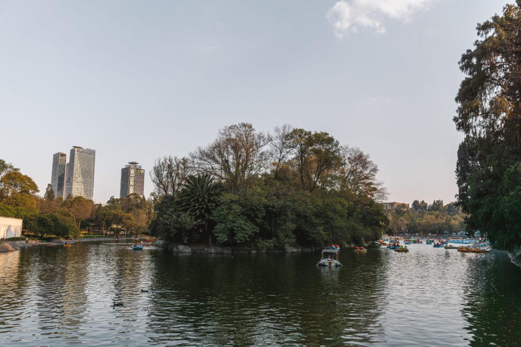 Bosque de Chapultepec in Mexico City
