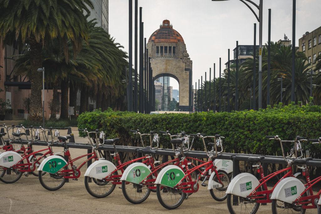 Biking in Mexico City