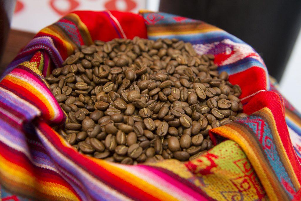 Coffee beans, Cusco, Peru