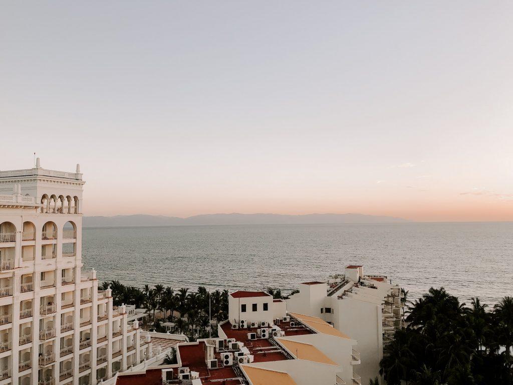 Puerto Vallarta at sunset, Mexico
