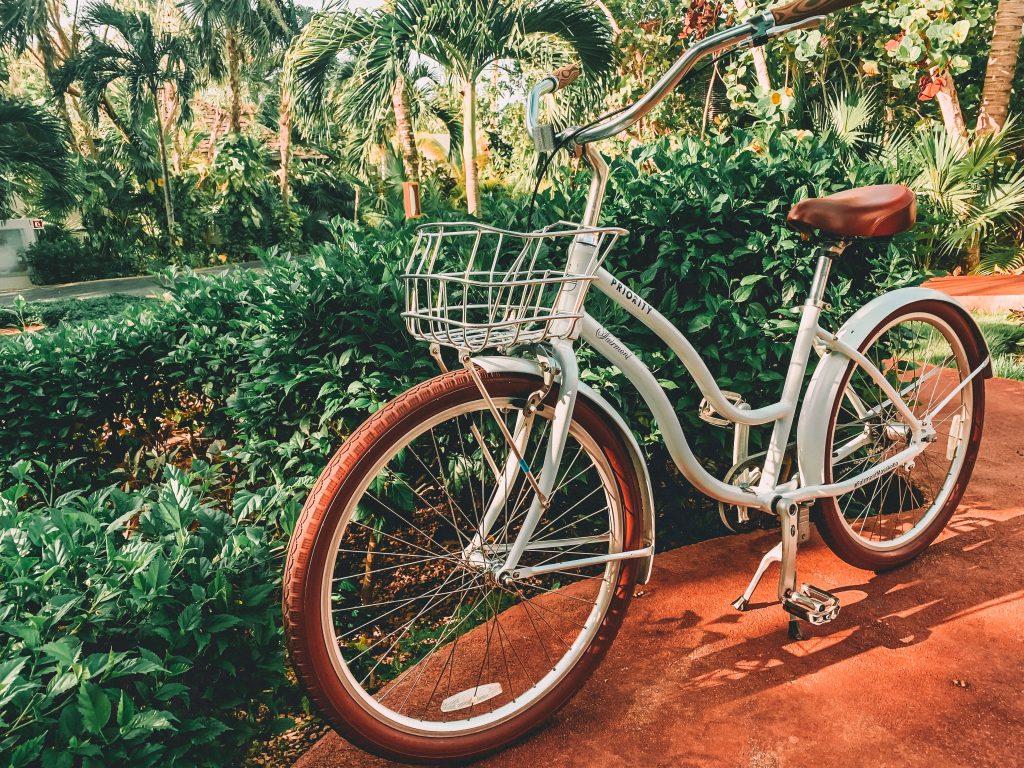The best way to get around Tulum is by bike