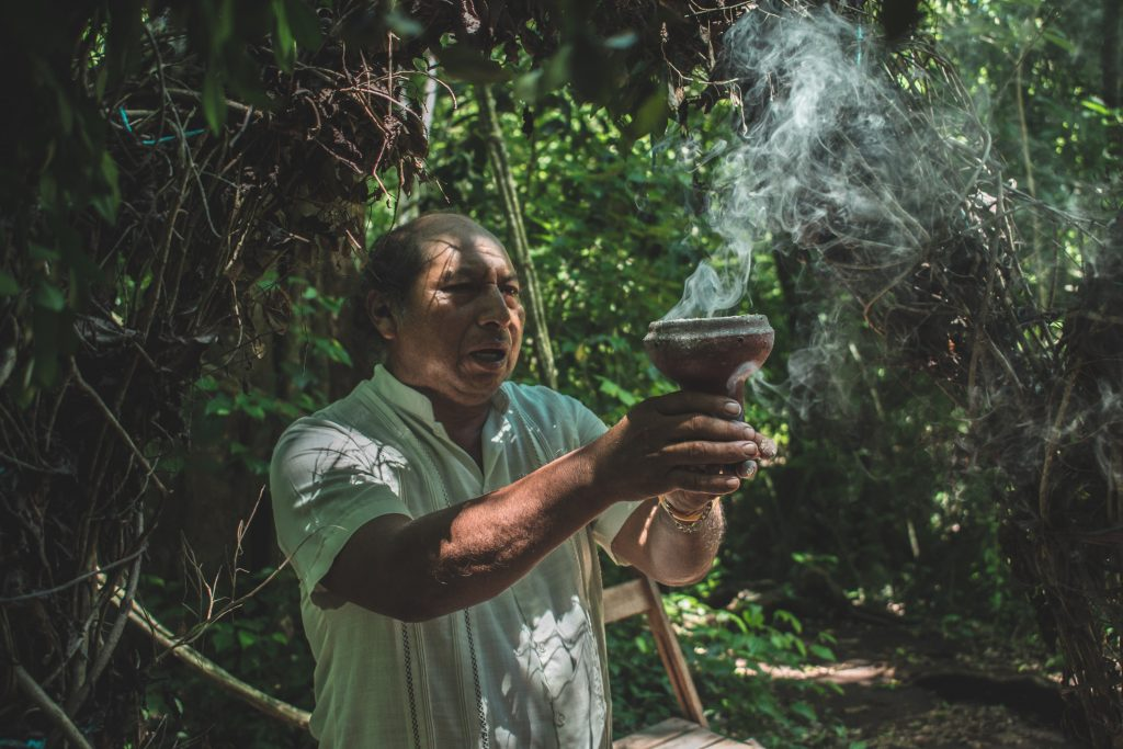 The use of copal for a temazcal is to cleanse and eliminate negative energies