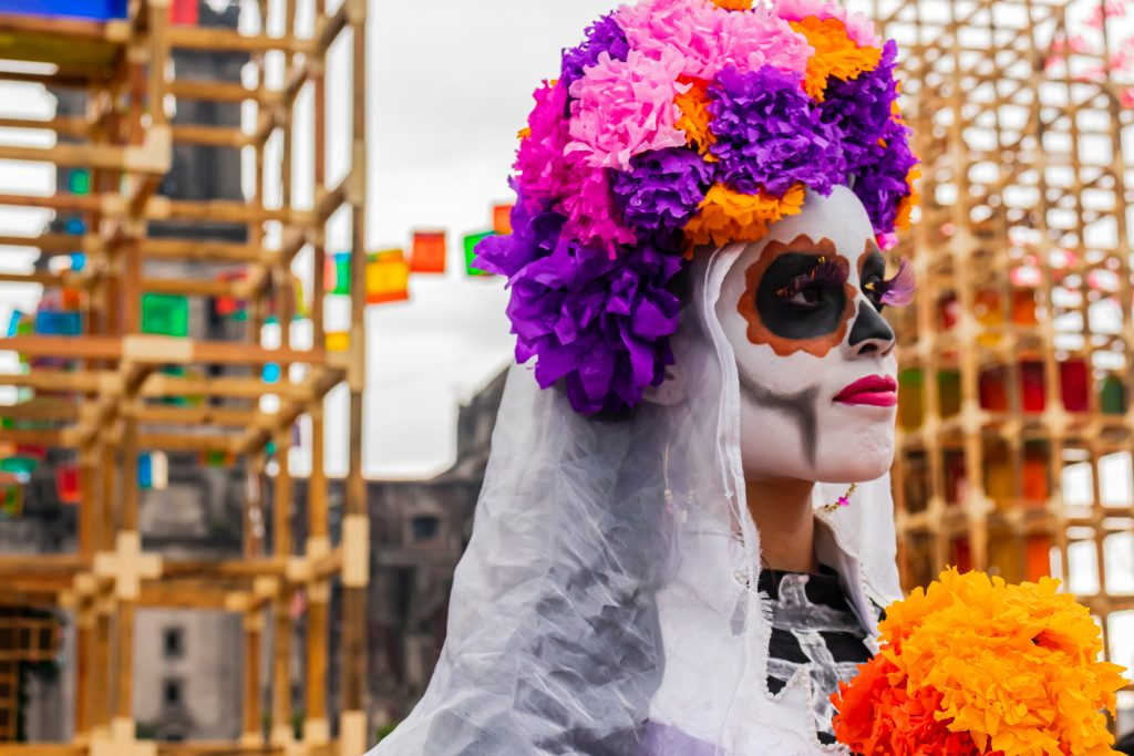 One of the best things to do in Mexico City, Day of the Dead.