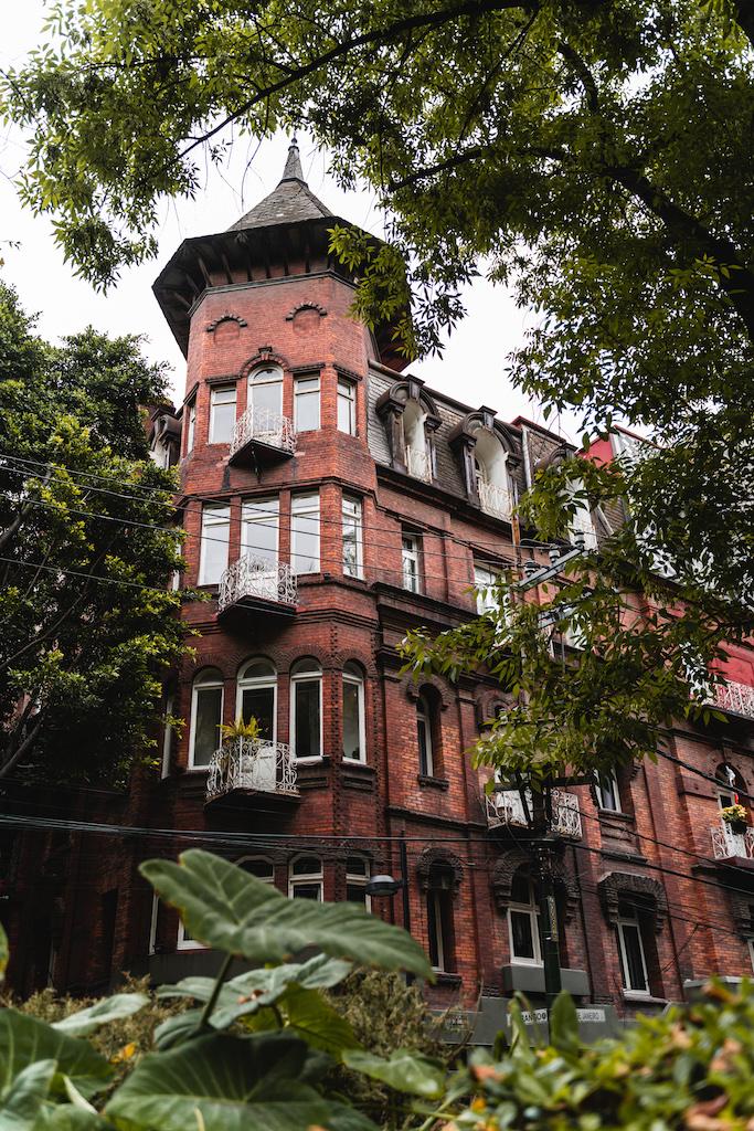 Fachadas of Roma, Mexico City