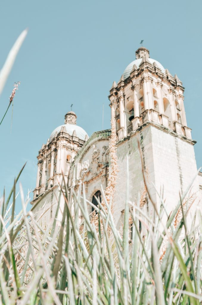 One of the best destinations in Latin America for Digital Nomads - Santo Domingo Church, Oaxaca City