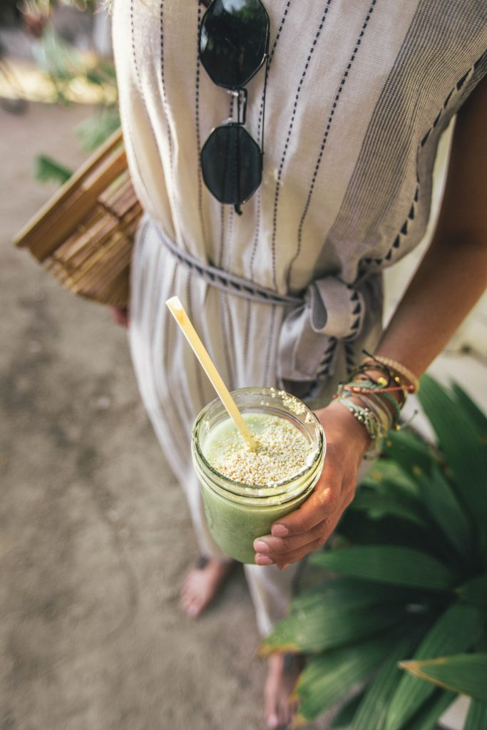 There are a lot of healthy cafes in Tulum