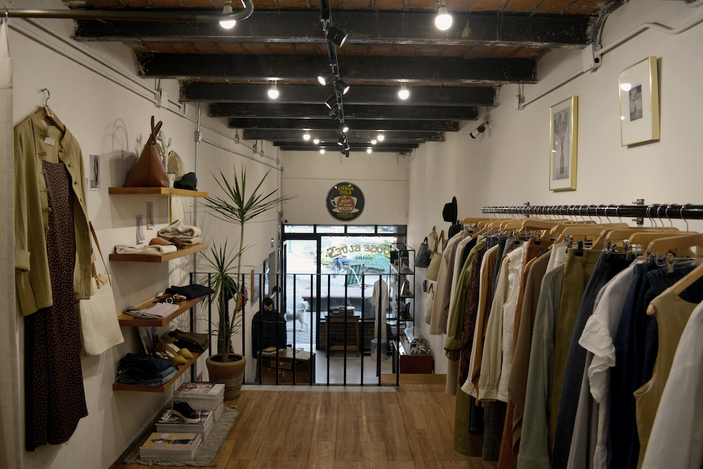 Vintage shop at Loose Blues, Mexico City