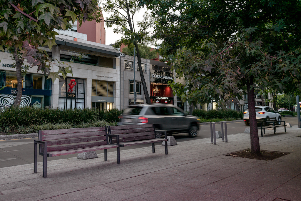 Best shopping in Mexico City is Avenida Masaryk