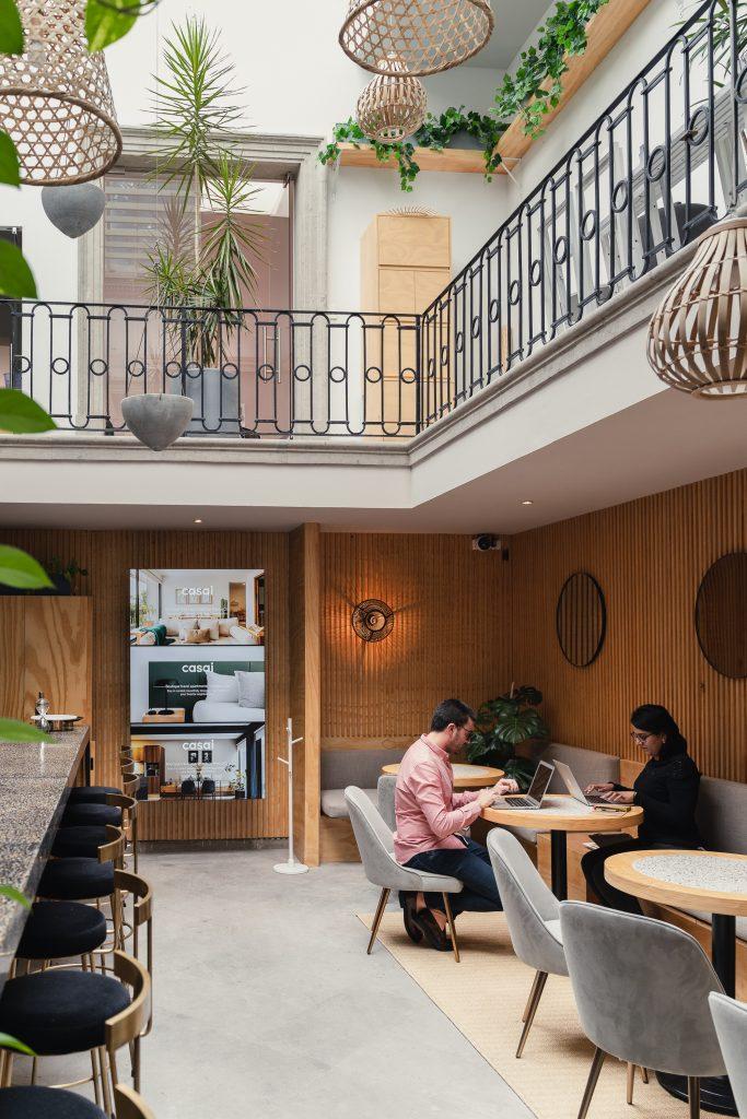 Casai Club lounge in Mexico City