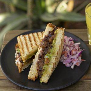 Café Vegetal sándwich vegano