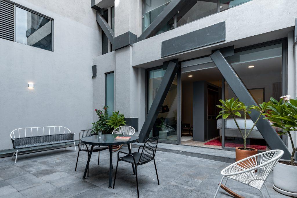 Rivera Terrace Suite terrace
