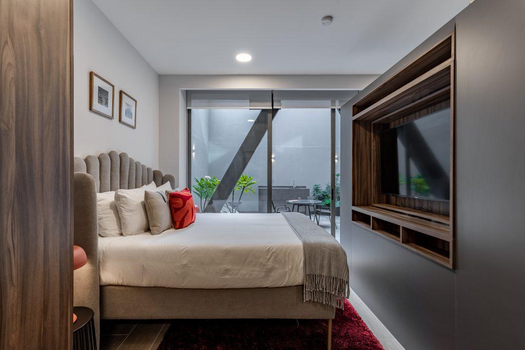 Rivera Terrace Suite bedroom
